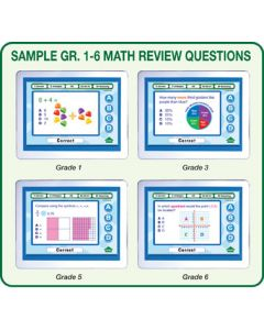 MimioVote Math Question Set - Grades 1 - 6