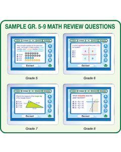 MimioVote Math Question Set - Grades 5 - 10