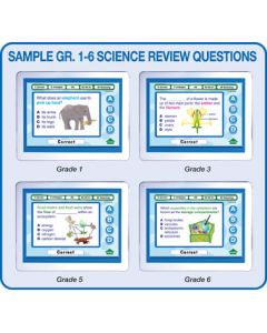 MimioVote Science Question Set - Grades 1 - 6