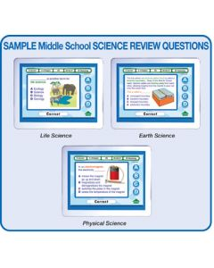 MimioVote Middle School Science Question Set - Life, Earth & Physical Science