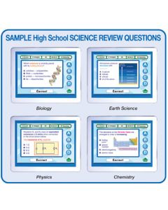 MimioVote High School Science Question Set - Biology, Earth Science, Physics & Chemistry
