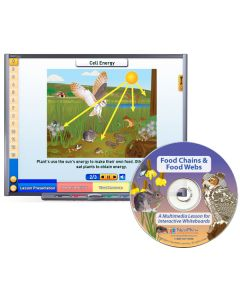 Food Chains & Food Webs Multimedia Lesson - CD Version