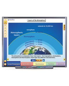 Earth's Atmosphere & Weather Multimedia Lesson - CD Version