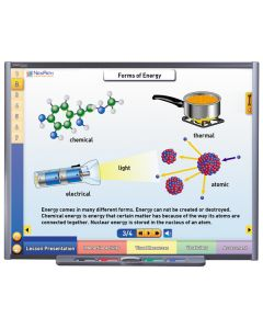 Energy: Forms & Changes Multimedia Lesson - CD Version