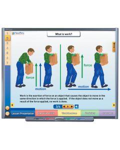 Work, Power & Simple Machines Multimedia Lesson - CD Version