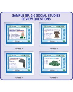 MimioVote Social Studies Question Set - Grades 1 - 6