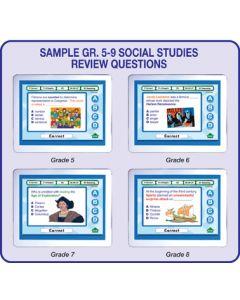 MimioVote Social Studies Question Set - Grades 5 - 9