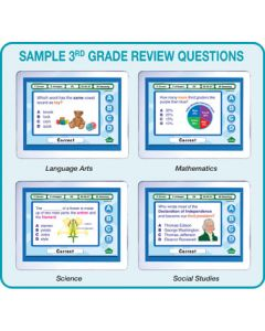 MimioVote Grade 3 Question Set - Math, Reading, Science & Social Studies
