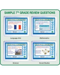 MimioVote Grade 7 Question Set - Math, Language Arts, Science & Social Studies