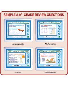 MimioVote Grades 8 - 10 Question Set - Math, Language Arts, Science & Social Studies