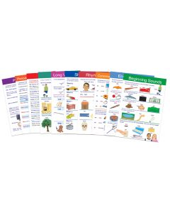 English Language Arts Gr. 1 Visual Learning Guides™ Set of 10