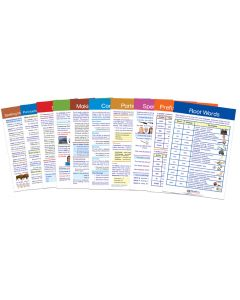 English Language Arts Gr. 6 Visual Learning Guides™ Set of 10