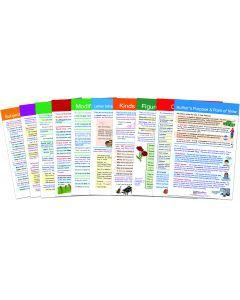 English Language Arts Gr. 7 Visual Learning Guides™ Set of 10