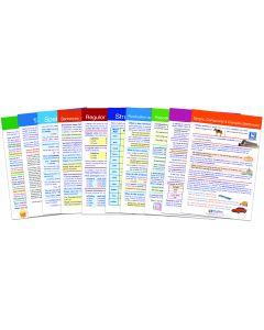 English Language Arts Gr. 8 Visual Learning Guides™ Set of 10