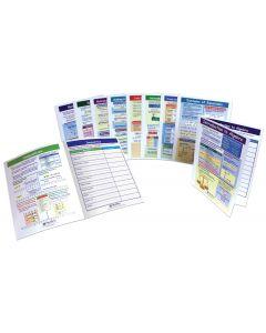 Algebra Skills - Grades 6 - 10 Visual Learning Guides™ Set