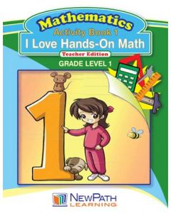 I Love Hands-On Math - Grade 1 - Downloadable eBook