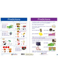 "Predictions - Laminated, ""Write-On/Wipe-Off"" Visual Learning Guide Gr. 1"