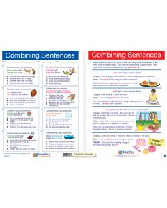 "Combining Sentences - Laminated, ""Write-On/Wipe-Off"" Visual Learning Guide Gr. 3"