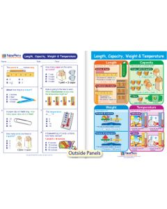 Length, Capacity, Weight & Temperature Visual Learning Guide