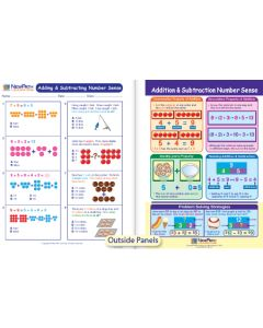 Adding & Subtracting Number Sense Visual Learning Guide