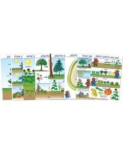 All About Plants Bulletin Board Chart Set of 8 - Early Childhood