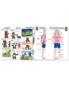 All About Me Bulletin Board Chart Set of 5 - Early Childhood