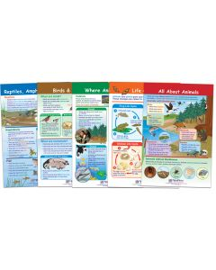 All About Animals Bulletin Board Chart Set, Gr. 1-2