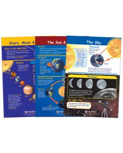 Our Planets Bulletin Board Chart Set, Gr. 1-2