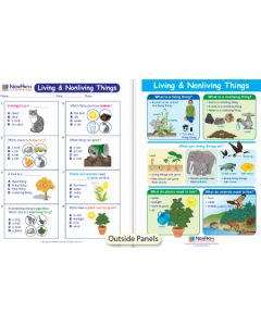 Living & Nonliving Things Visual Learning Guide