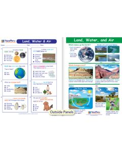 Land, Water & Air Visual Learning Guide