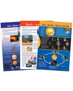 Our Solar System Bulletin Board Chart Set