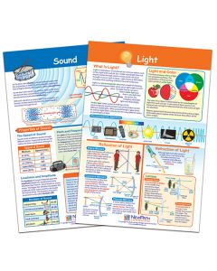 Light and Sound Bulletin Board Chart Set