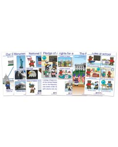 Being a Good Citizen Bulletin Board Chart Set of 7 - Early Childhood