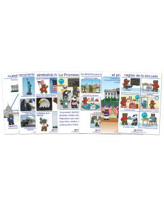 Being a Good Citizen Bulletin Board Chart Set of 7 - Early Childhood Spanish Edition