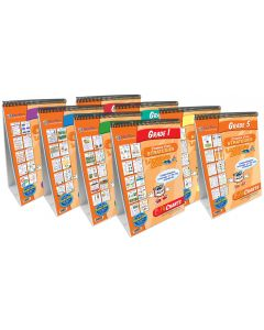 ELA - Common Core Grades 1-8 Set of 8 Flip Charts