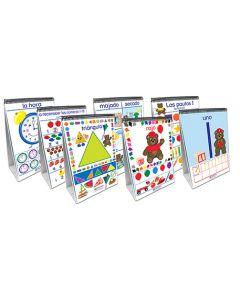 Math Readiness Flip Chart Set - Set of 7 - Early Childhood - SPANISH EDITION