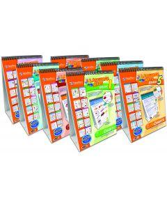 English Language Arts (ELA) Grades 1-8 Set of 8 Flip Charts