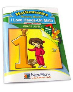 I Love Hands-On Math Workbook- Grade 1 - Print Version