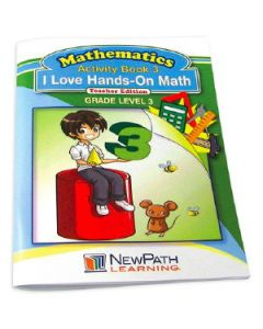 I Love Hands-On Math Workbook - Grade 3 - Print Version