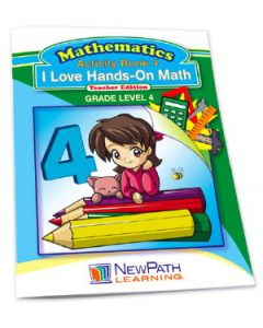I Love Hands-On Math Workbook- Grade 4 - Print Version