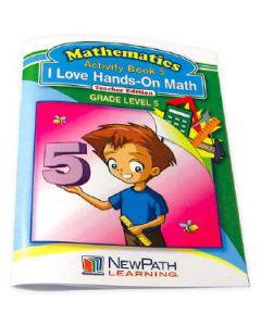 I Love Hands-On Math Workbook - Grade 5 - Print Version