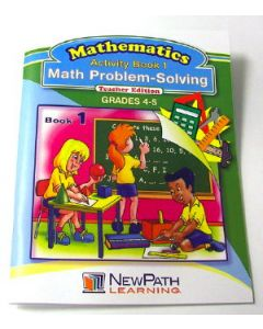Math Problem-Solving Series Workbook - Book 1 - Grades 4 - 5 - Print Version