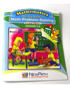Math Problem-Solving Series Workbook- Book 2 - Grades 5 - 6 - Print Version