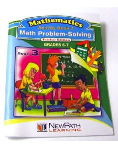 Math Problem-Solving Series Workbook - Book 3 - Grades 6 - 7 - Print Version