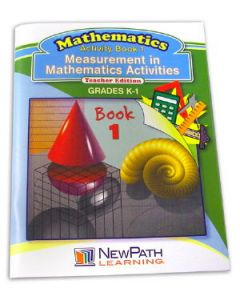 Measurement in Mathmatics Activities Series Workbook- Book 1 - Grades K - 1 - Print Version