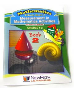 Measurement in Mathmatics Activities Series Workbook - Book 2 - Grades 1 - 2 - Print Version
