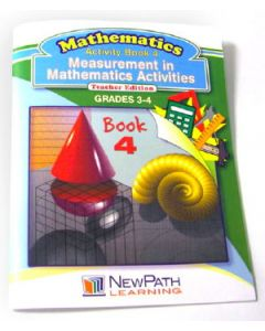 Measurement in Mathematics Activities Series Workbook - Book 4 - Grades 3 - 4 - Print Version