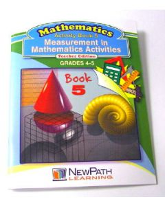 Measurement in Mathematics Activities Series Workbook - Book 5 - Grades 4 - 5 - Print Version