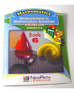 Measurement in Mathematics Activities Series Workbook - Book 6 - Grades 5 - 6 - Print Version