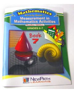 Measurement in Mathematics Activities Series Workbook - Book 7 - Grades 6 - 7 - Print Version